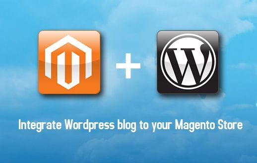 Magento and WordPress integration