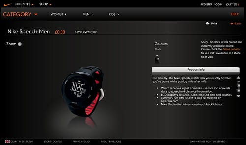 Nike uses Magento to power its websites.