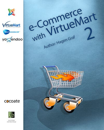 You will need to install a shopping cart plugin like Virtuemart in order to give Joomla eCommerce functionality.