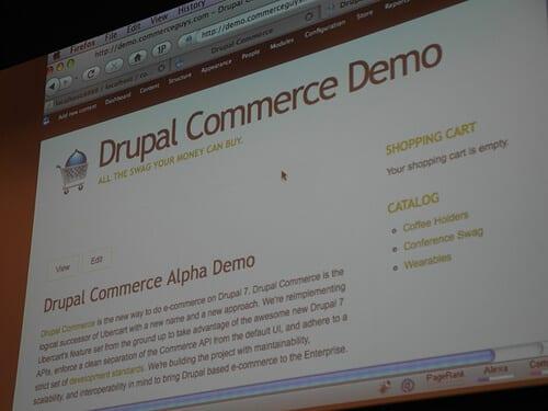 Drupal eCommerce demonstration