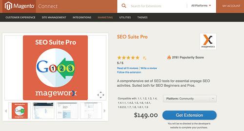 SEO Suite Pro Magento extension