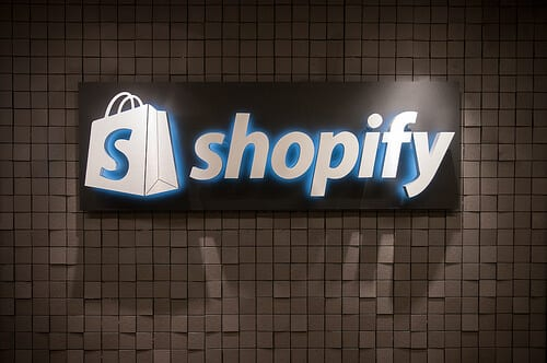 The Shopify eCommerce system