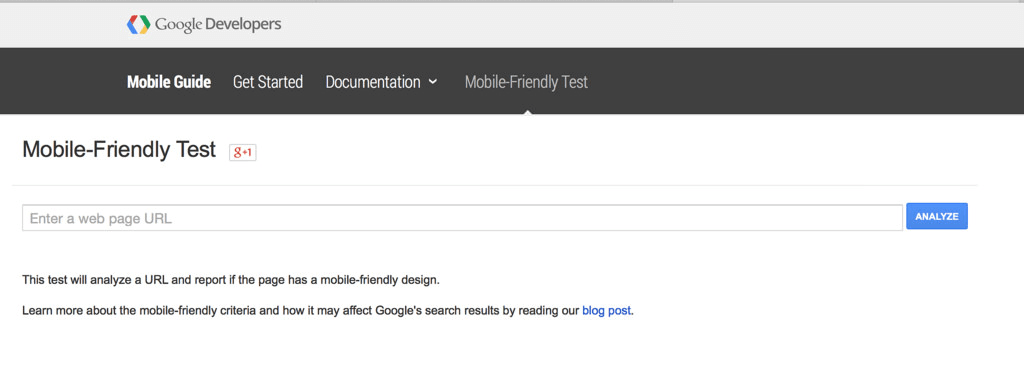 Use Google's Mobile-Friendly Test tool to check if your Magento site is mobile friendly.