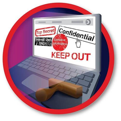 Magento Top Secret Keep Out