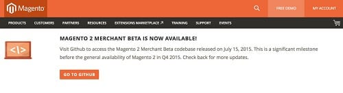 Magento 2 Merchant Beta is Now Available for Download