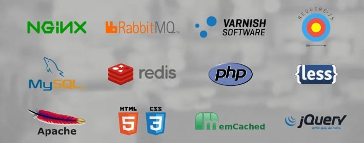 Magento's modern tech stack